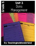 {Grade 5} Data Management Activity Packet