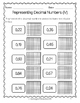 {Grade 5} Decimal Activity Packet
