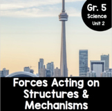 {Grade 5} Forces Acting on Structures and Mechanisms Activity Packet