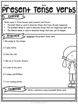 {Grade 5} Grammar Activity Packet