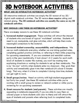 {Grade 5} NBT.2 Interactive Math Notebook