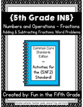 {Grade 5} NF.2 Interactive Math Notebook