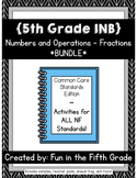 {Grade 5} NF Interactive Math Notebooks -- COMPLETE BUNDLE!