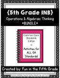 {Grade 5} OA Interactive Math Notebooks -- COMPLETE BUNDLE!