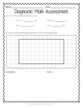 {Grade 5} Ontario-Based Diagnostic Math Assessment Test