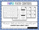 {Grade 5} Place Value Centers -- 5.NBT.1