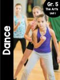 {Grade 5} Unit 1: Dance Activity Packet