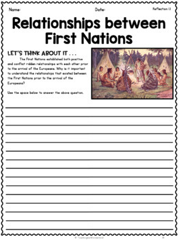 {Grade 5} Unit 1: First Nations and Europeans in New France and Early Canada