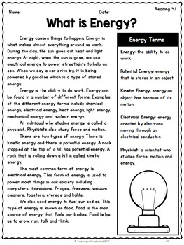 Grade 5} Unit 4: Conservation of Energy and Resources by ...