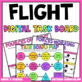 (Grade 6) Digital Learning Task Board: Flight
