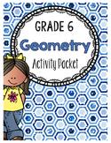 {Grade 6} Geometry Activity Packet