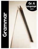 {Grade 6} Grammar Activity Packet