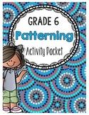 {Grade 6} Patterning Activity Packet