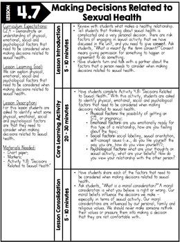 {Grade 7} Unit 4: Human Development & Sexual Health