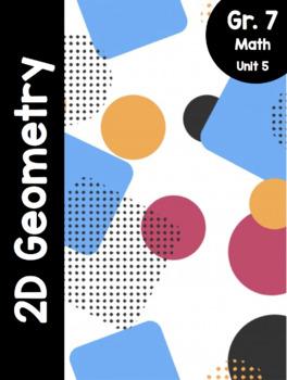 {Grade 7} Unit 5: 2D Geometry Activity Packet