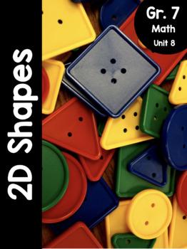 {Grade 7} Unit 8: 2D Shapes Activity Packet