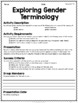 {Grade 8} Human Development and Sexual Health Activity Packet