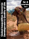 {Grade 8} Unit 2: Global Inequalities - Economic Development and Quality of Life