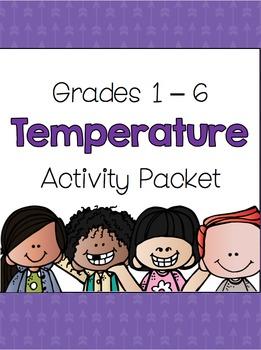 {Grades 1 - 6} Temperature Activity Packet
