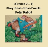 (Grades 2 - 4) Story Criss-Cross Puzzle:  Peter Rabbit