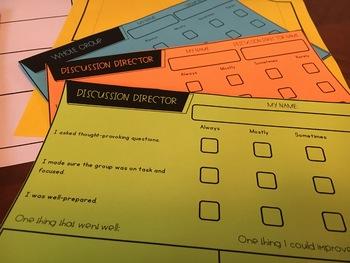 {Grades 3 - 8} Literature Circle Activity Packet
