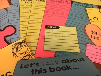 {Grades 3 - 8} The Love of Reading Activity Packet