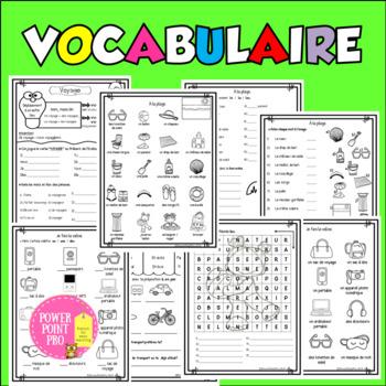 """""""Grandes vacances"""" fiches pédagogiques-vocabulaire, grammaire, lecture, écriture"""
