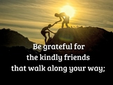 """mp4 Video """"Gratitude"""" by Edgar Guest - A Poem to Memorize (Listen and Repeat)"""