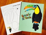"""Grecia"" the Toucan - Cultural Activity & Craft for Spanish Students"