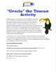 """""""Grecia"""" the Toucan - Cultural Activity & Craft for Spanish Students"""