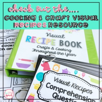 """Green Eggs"" Visual Recipe {FREEBIE}"