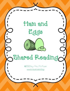 Ham and Eggs Shared Reading Set