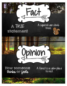 """Groundhog Gets a Say"" Fact & Opinion"
