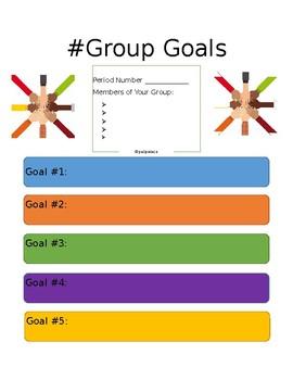 #Group Goals
