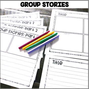 """""""Group Stories"""" Center"""