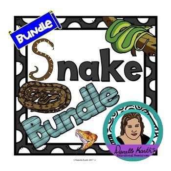 *Growing Bundle* Huge Snake Bundle with Lapbook