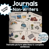 *Growing Bundle* Non-Writer Journals