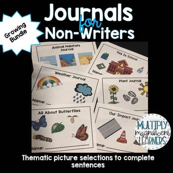 *Growing Bundle* Non-Writer Journals