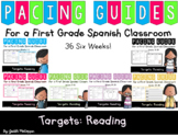 Reading Pacing Guides For a First Grade Spanish Classroom