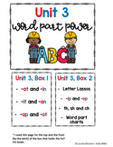 MEGA Bundle of Kindergarten Phonics Organizational Covers and Labels