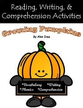 """Growing Pumpkins"" Guided Reading Program Work"