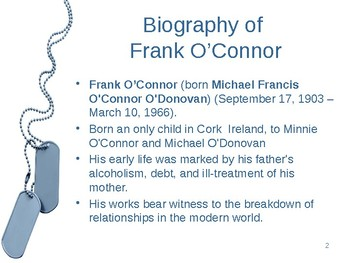 """Guests of the Nation"" by Frank O'Connor"