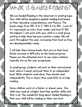 ~*Guided Reading Freebie