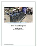 """Gun Share Program"" Reading Passage"