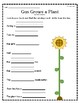 """""""Gus Grows a Plant"""" Guided Reading Program Work"""