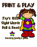 Fry's 1000 Sight Words Roll & Read {PRINT & PLAY}