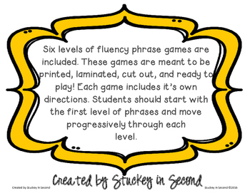 Under the Sea Fluency Phrase Games (All 6 Levels!)