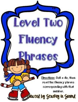 Fluency Intervention Games (Winter Edition)