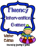Fluency Intervention Games (Winter Edition)