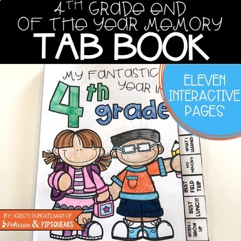 End of Year Memory Book (4th Grade)